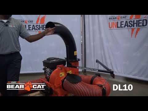 Crary® Bear Cat® DL10 Debris Loader